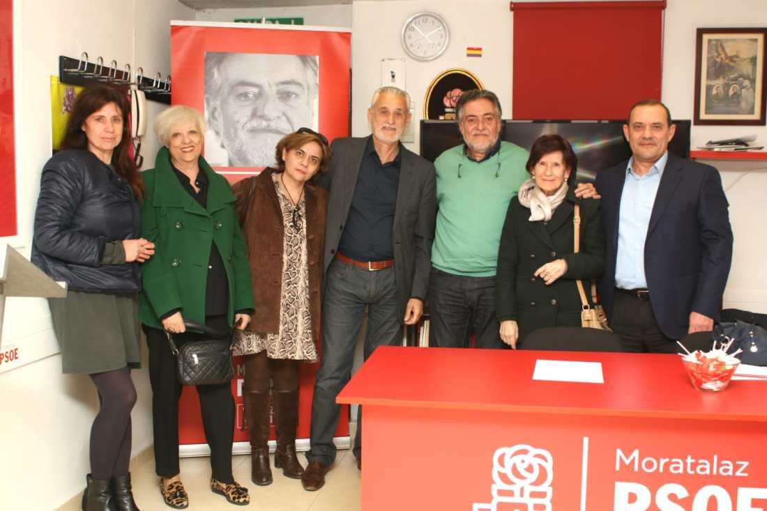 #PepuAlcalde escucha en PSOE Moratalaz y sigue haciendo equipo.