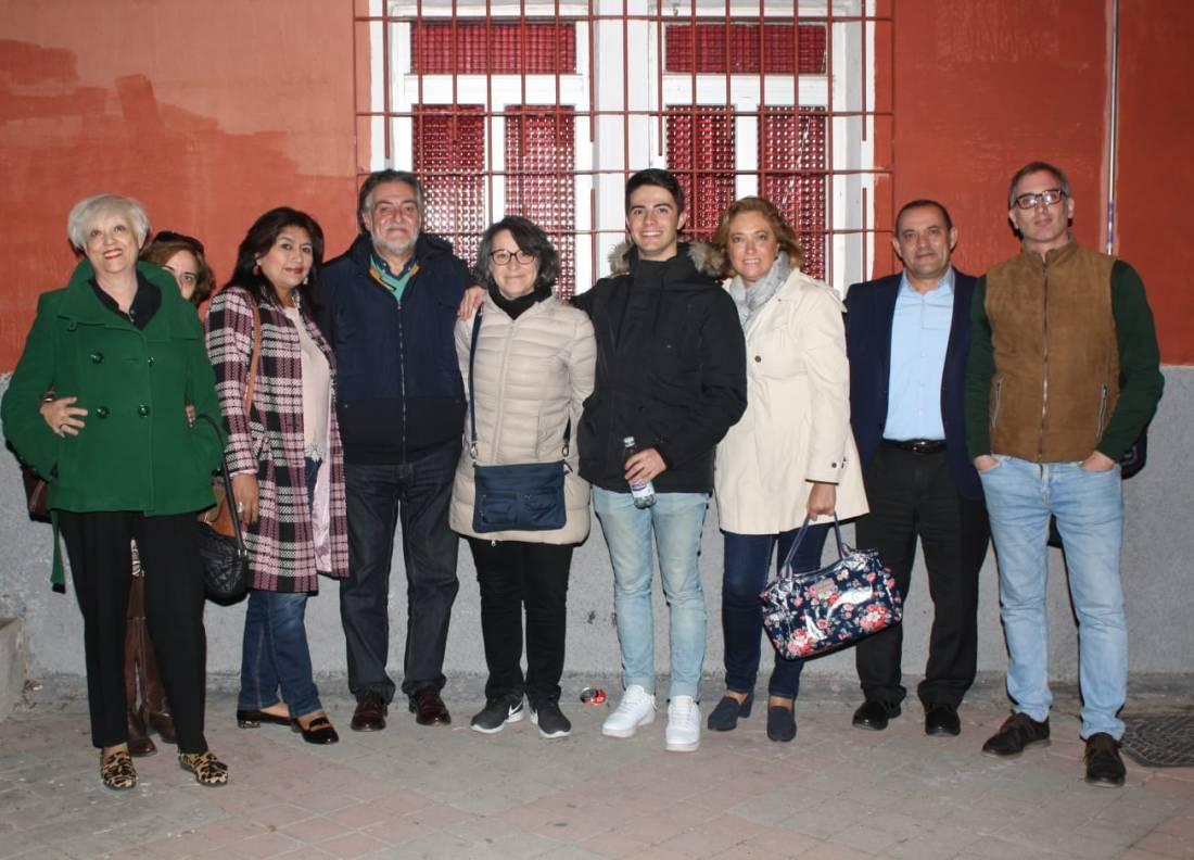 #PepuAlcalde visita el distrito de Moratalaz con vecinos y militantes.