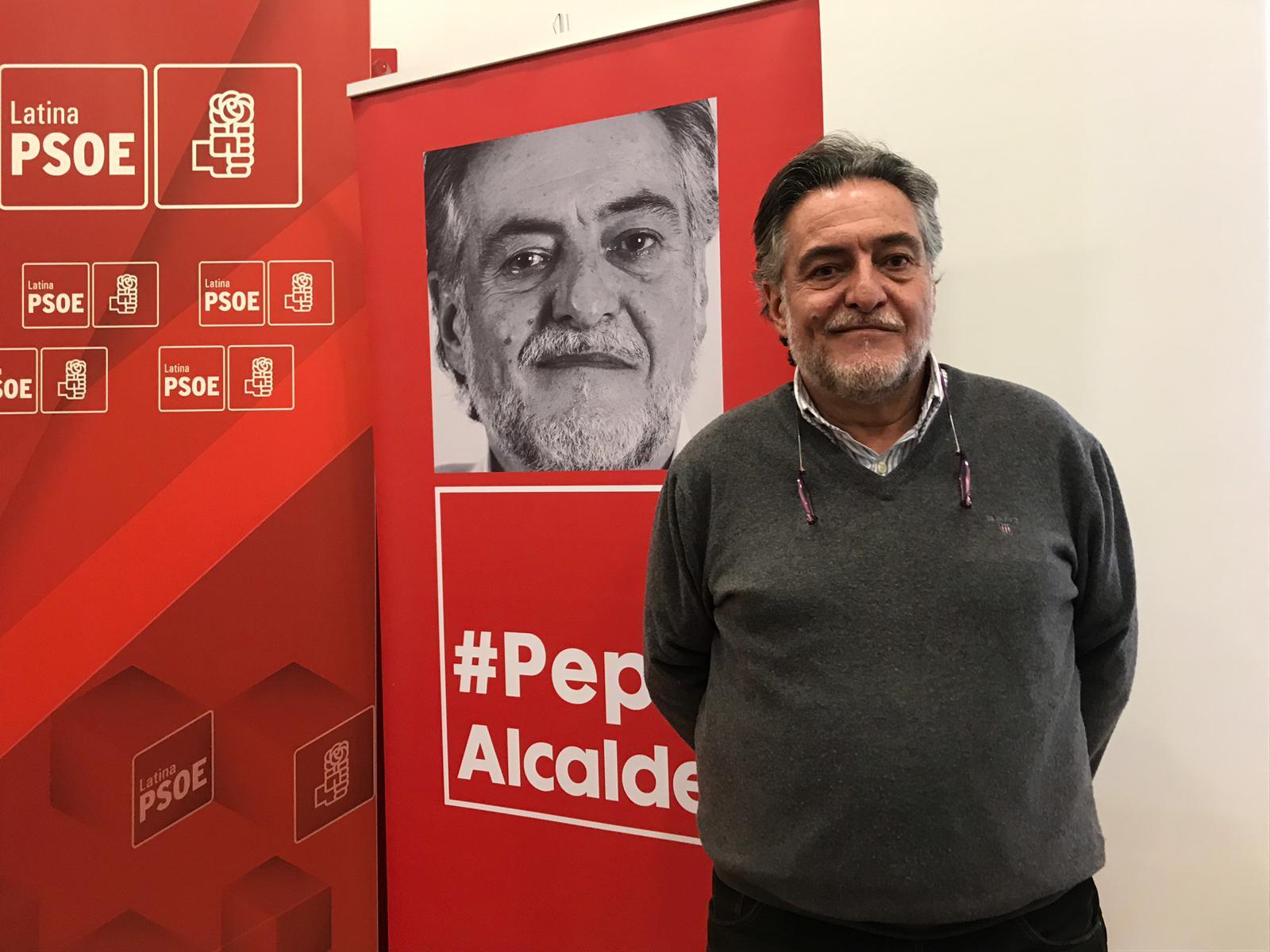 #PepuAlcalde visita el distrito de La Latina y se reúne en PSOE Latina.