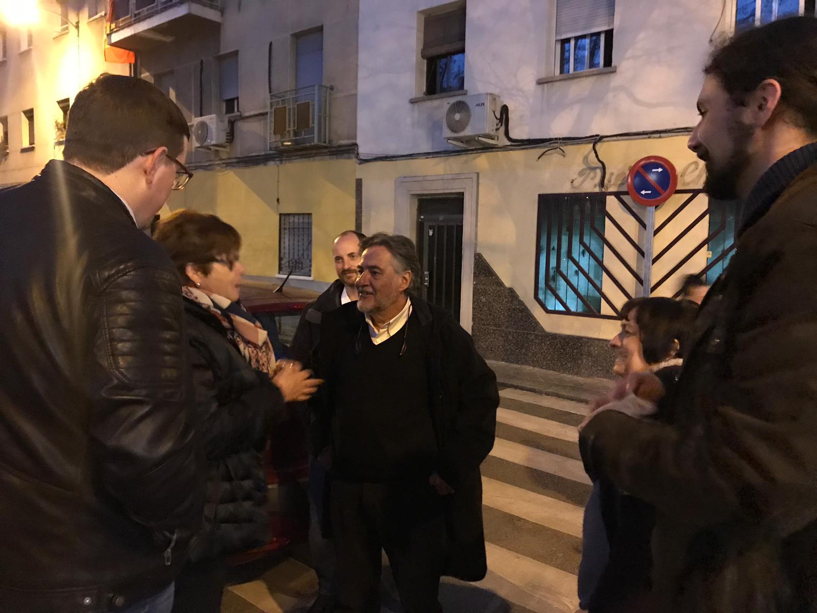 #PepuAlcalde visita el distrito de Usera.