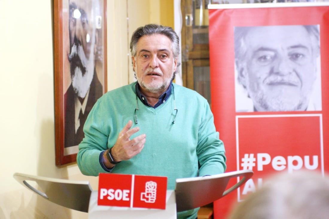 #PepuAlcalde habla en PSOE Moncloa-Aravaca del Madrid que sueña.