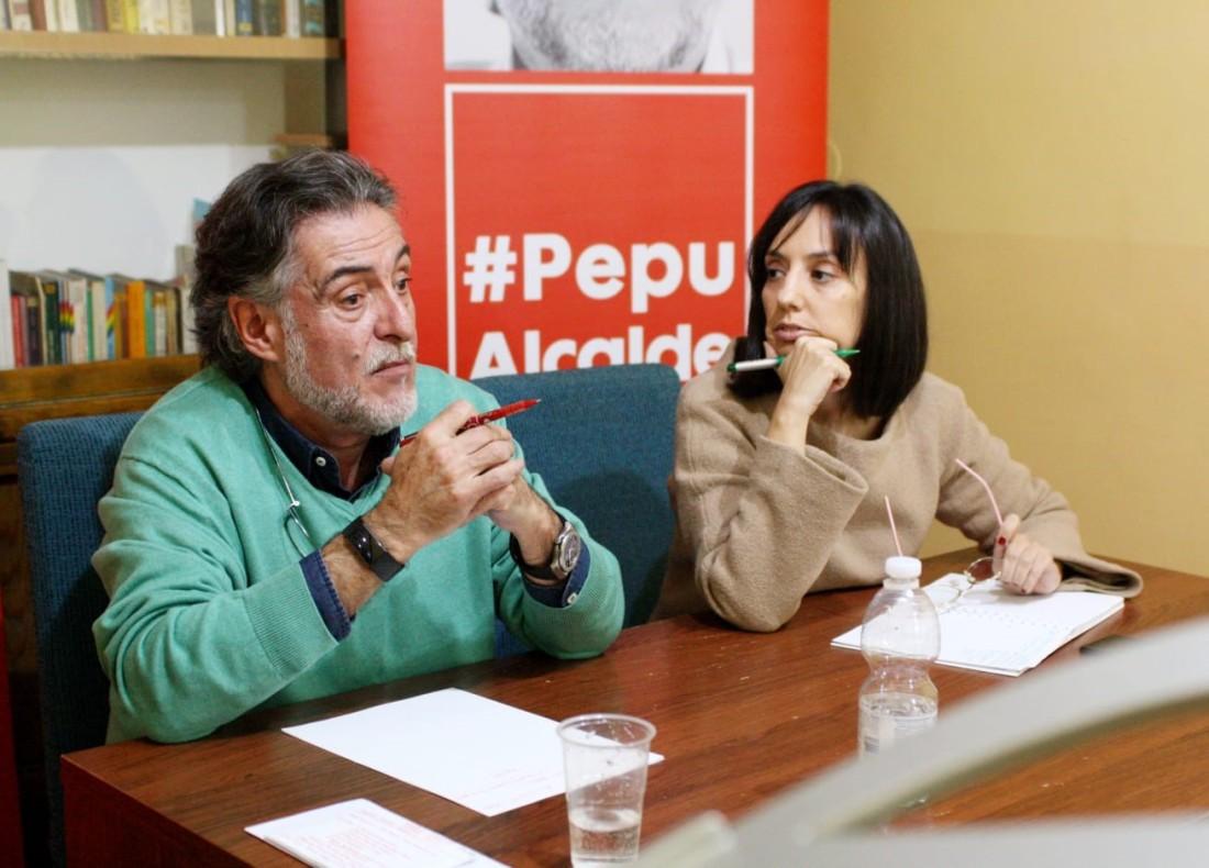#PepuAlcalde habla en PSOE Moncloa-Aravaca con los vecinos de educación y de centros de mayores.