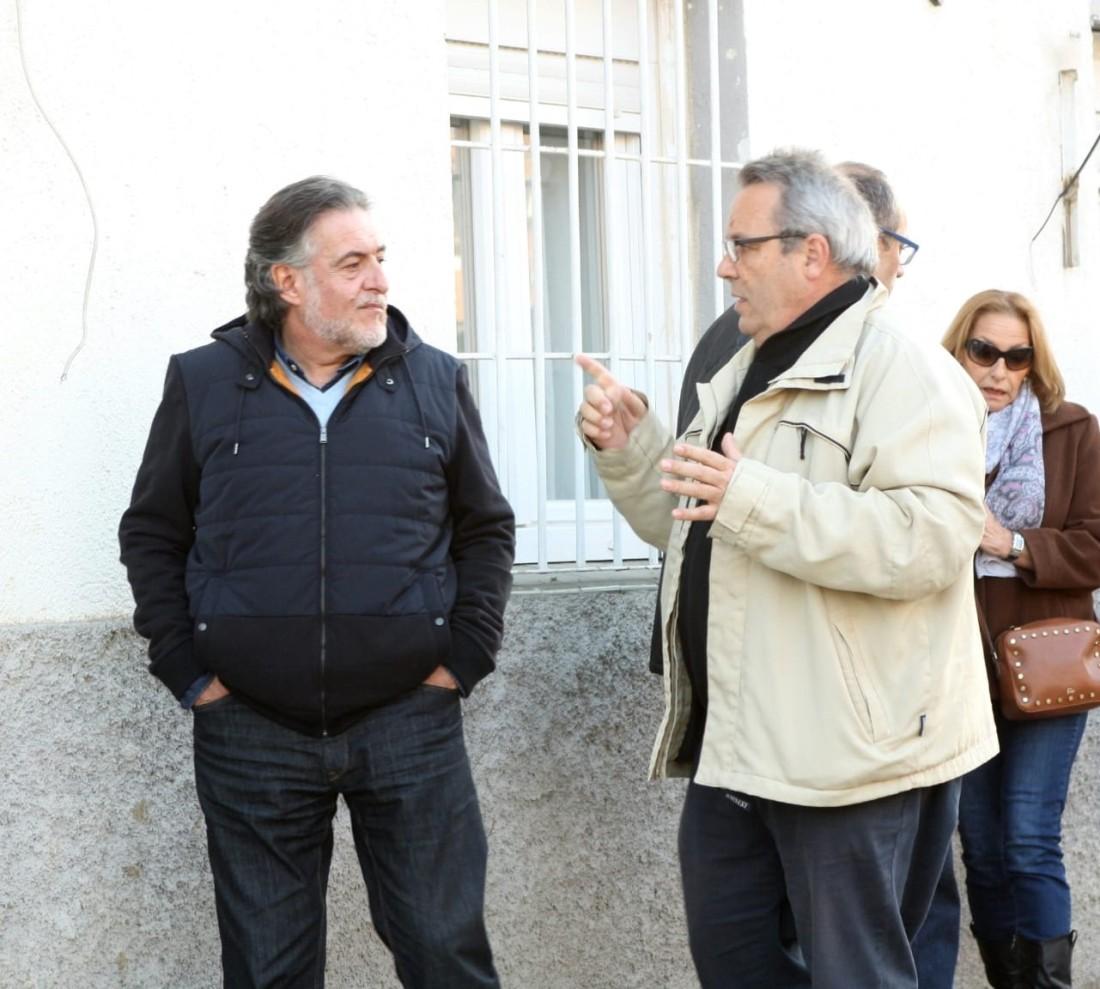 #PepuAlcalde visita el distrito de Barajas.