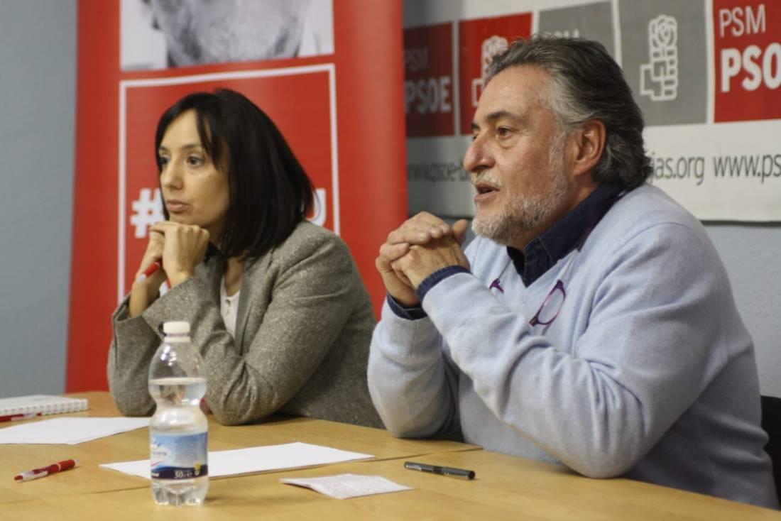 #PepuAlcalde habla de la importancia de construir una ciudad más igualitaria entre distritos en PSOE Barajas.