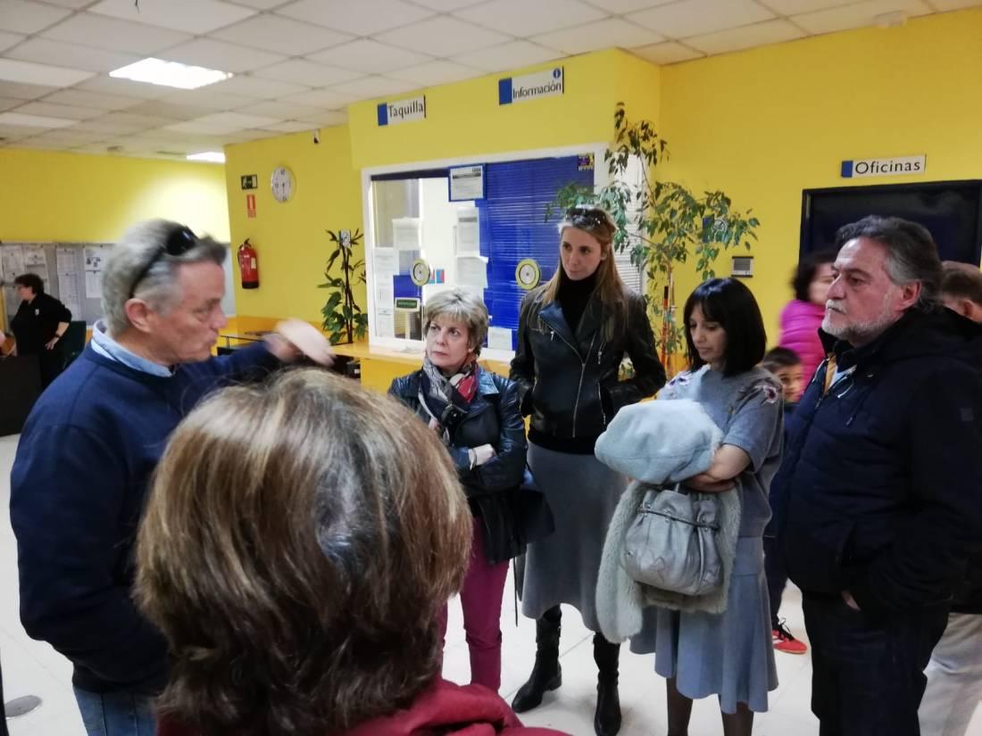 #PepuAlcalde habla del Madrid que sueña en la sede del PSOE San Blas-Canillejas.